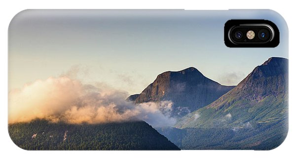 Dawn Along The Nordfjord  IPhone Case