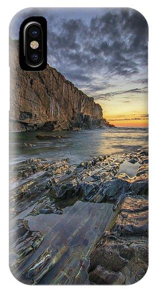 Dawn At Bald Head Cliff IPhone Case