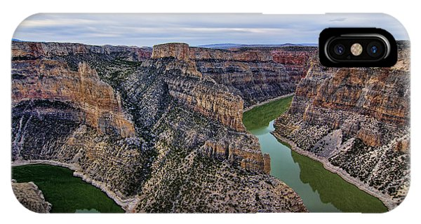 Dawn At Devils Overlook Bighorn Canyon IPhone Case