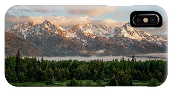 Teton iPhone Case - Dawn At Grand Teton National Park by Brian Harig