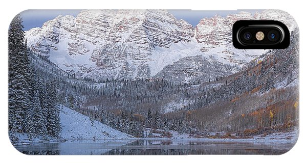 Dawn At Maroon Bells 2 IPhone Case
