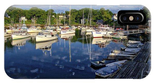 Dawn At Perkins Cove - Maine IPhone Case