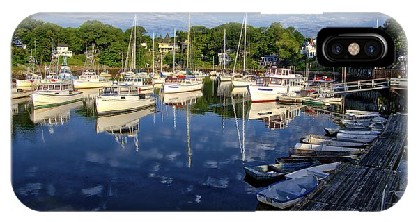 Dawn At Perkins Cove - Maine IPhone Case