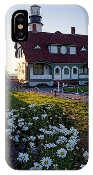 Dawn At Portland Head Light, Cape Elizabeth, Maine  -08614 IPhone Case