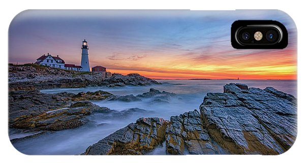 Dawn At Portland Head Lighthouse IPhone Case
