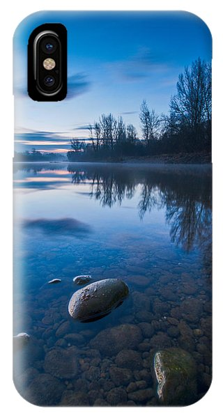 Dawn At River IPhone Case