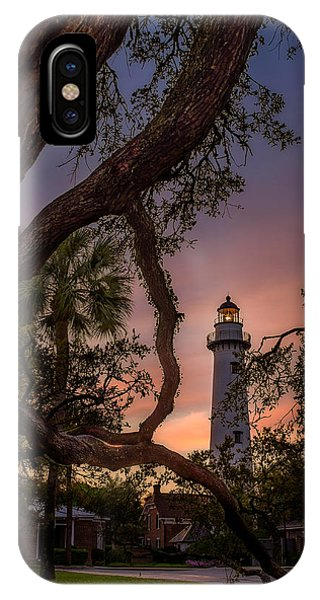 Dawn At Saint Simons Lighthouse IPhone Case