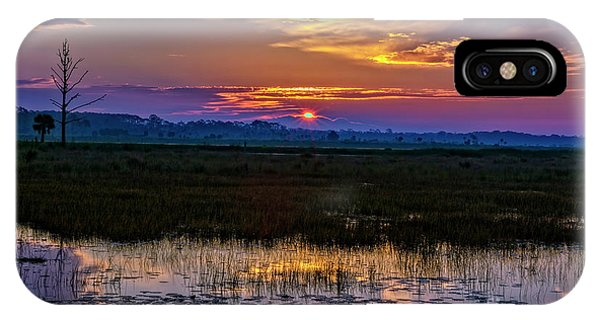 Dawn Breaking Over Saint Marks IPhone Case
