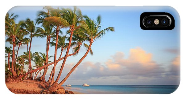 IPhone Case featuring the photograph Dawn In Punta Cana by Adam Romanowicz