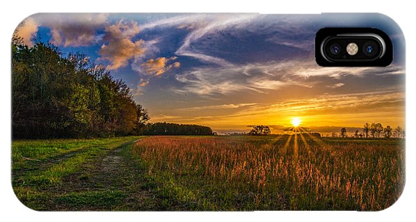 Dawn In The Lower 40 IPhone Case