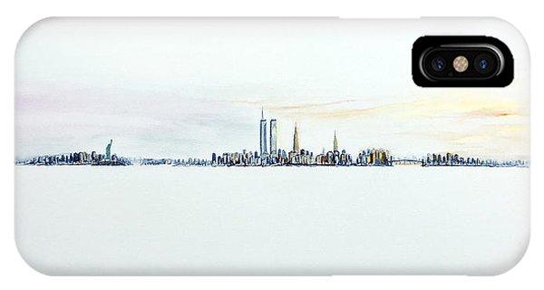 Dawn New York City IPhone Case