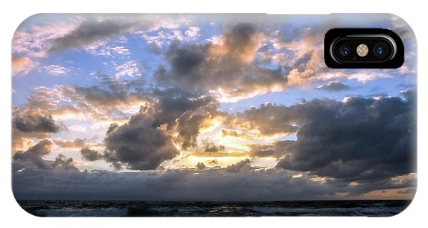 Dawn Of A New Day Treasure Coast Florida Seascape Sunrise 138 IPhone Case