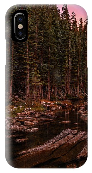 IPhone Case featuring the photograph Dawn Of Dreams Triptych Left by Dustin LeFevre