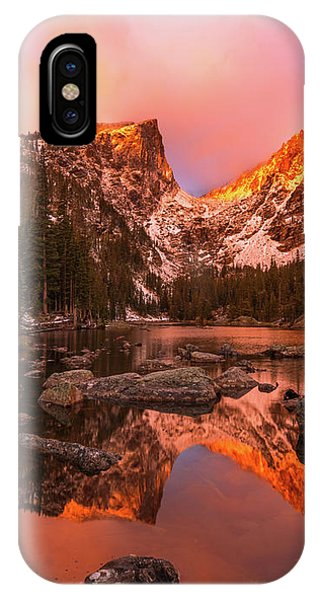 IPhone Case featuring the photograph Dawn Of Dreams Triptych Middle by Dustin LeFevre
