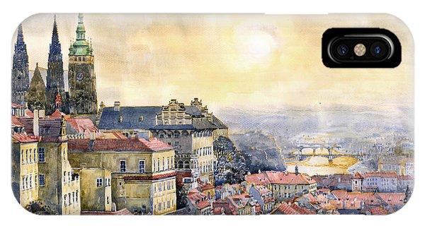 Dawn Of Prague IPhone Case