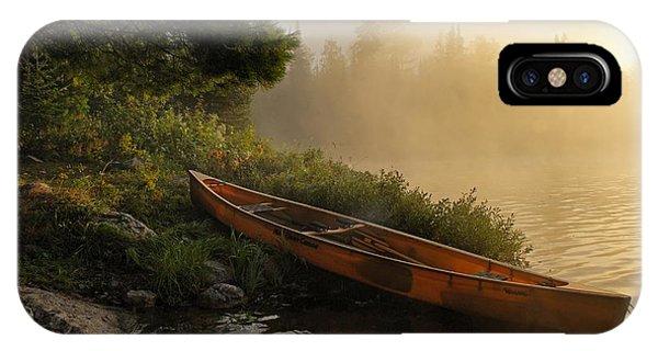 Dawn On Boot Lake IPhone Case