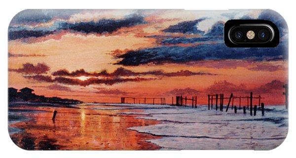 Dawn On Crystal Beach IPhone Case