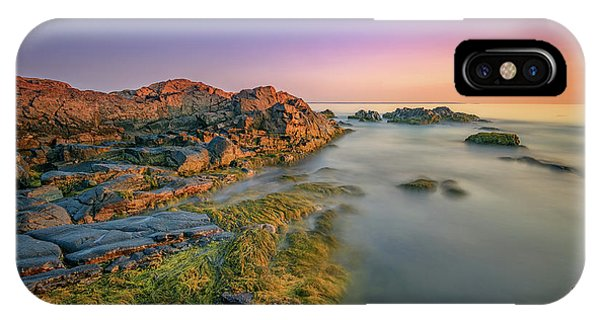 Dawn On Marginal Way IPhone Case