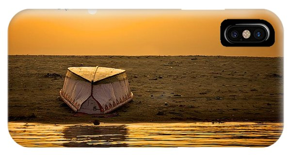 Dawn On The Ganga IPhone Case