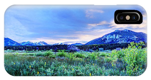 Dawn On The Morraine Park Valley IPhone Case