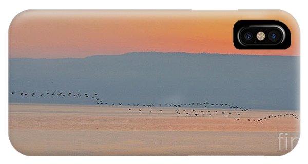 Dawn On The Sea Of Galilee IPhone Case