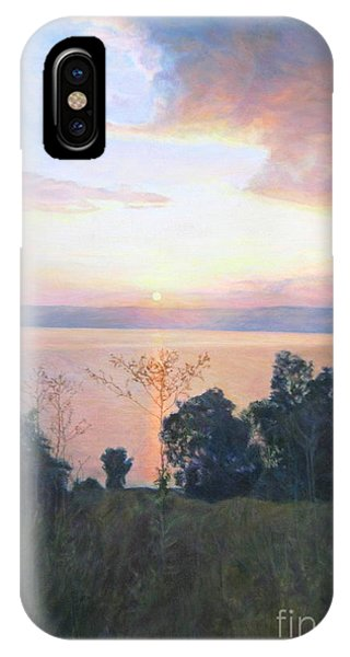 Dawn Over The Sea Of Galilee. IPhone Case