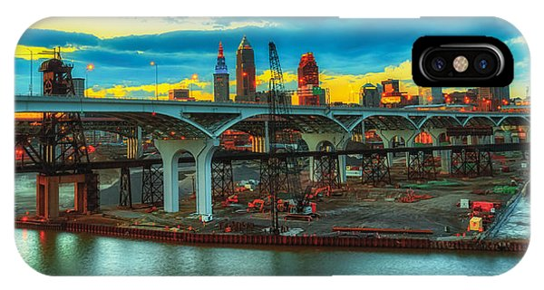 Dawn's Early Light In Cleveland IPhone Case