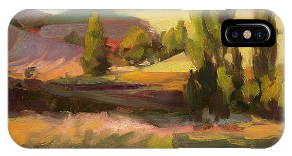 Rural America iPhone Case - Day Closing by Steve Henderson
