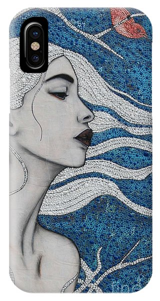 IPhone Case featuring the mixed media Day Dreamer by Natalie Briney