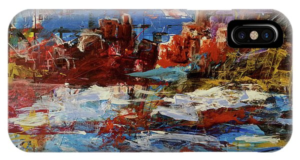 IPhone Case featuring the painting Day Dreaming Sedona Arizona by Reed Novotny
