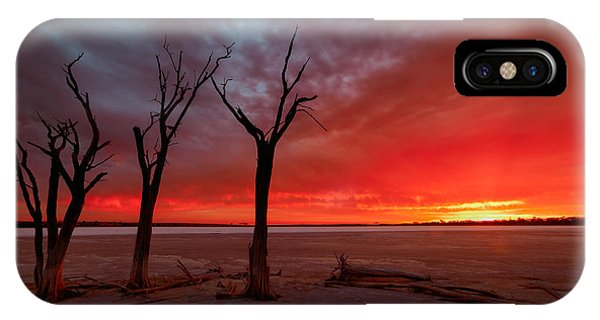 IPhone Case featuring the photograph Day Is Done by Julian Cook