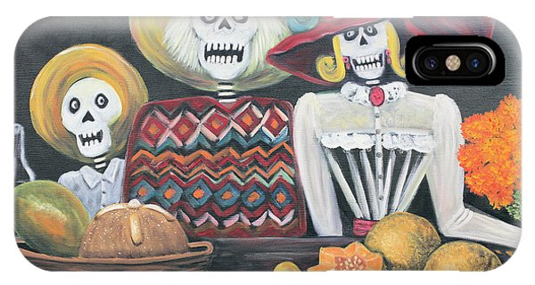 Day Of The Dead Family IPhone Case