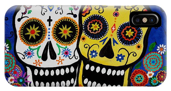Day Of The Dead Sugar IPhone Case