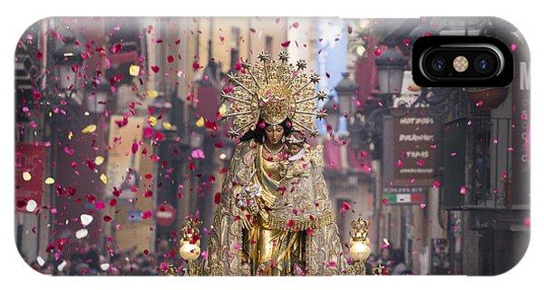 Day Of The Virgen De Los Desamparados IPhone Case