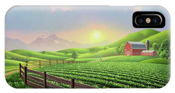 Agriculture iPhone Case - Daybreak by Jerry LoFaro