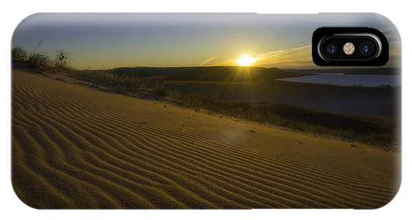 IPhone Case featuring the photograph Daybreak On The Dunes by Owen Weber