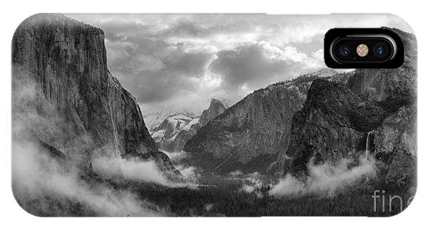 Daybreak Over Yosemite IPhone Case