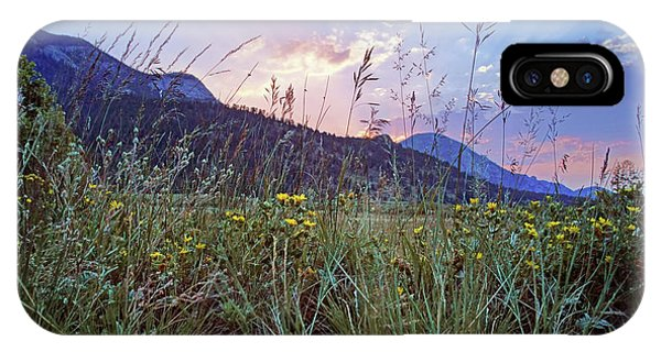 Rocky Mountain Np iPhone Case - Daybreak - Rocky Mountain National Park by Nikolyn McDonald