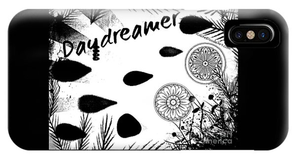 IPhone Case featuring the drawing Daydreamer by Rachel Maynard