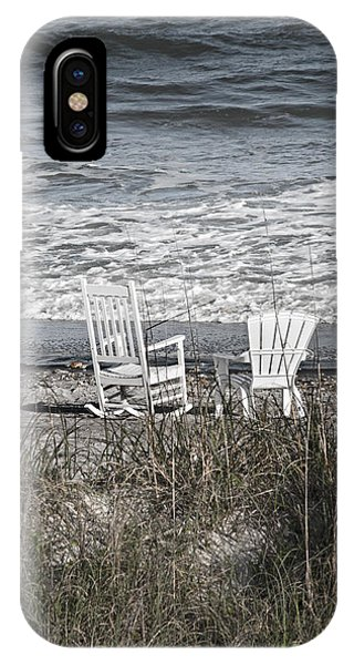 Oceanfront iPhone Case - Daydreaming By The Sea  by Betsy Knapp