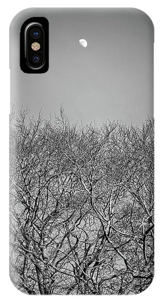 Daylight Moon Gazing IPhone Case