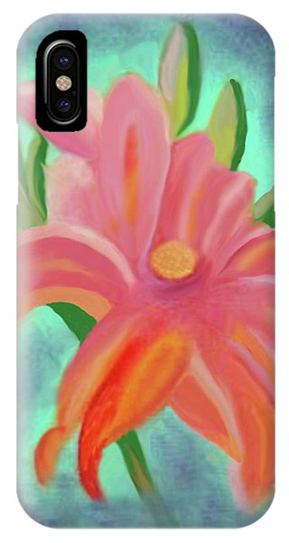 Daylily At Dusk IPhone Case