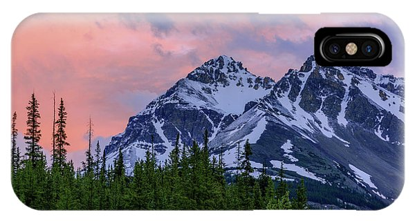 Rocky Mountain iPhone Case - Day's End by Chad Dutson