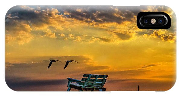 Days End In Cape May Nj IPhone Case
