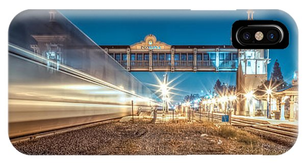 Railroad Station iPhone Case - Days Go By by TC Morgan