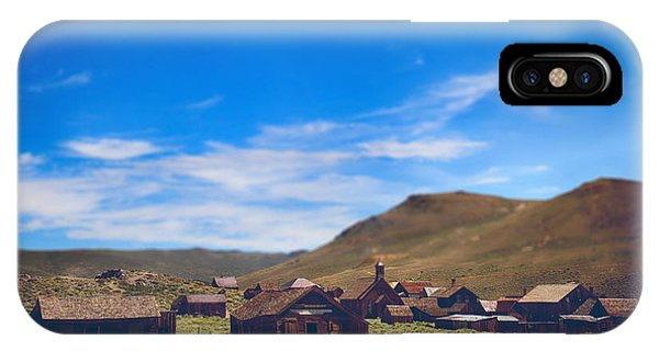 Bodie Ghost Town iPhone Case - Days Of Old by Laurie Search