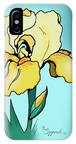 Daytime Iris IPhone Case