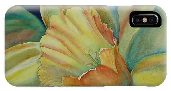 Dazzling Daffodil IPhone Case