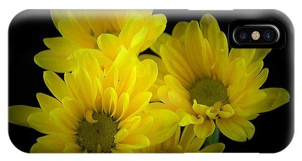Dazzling Yellow IPhone Case