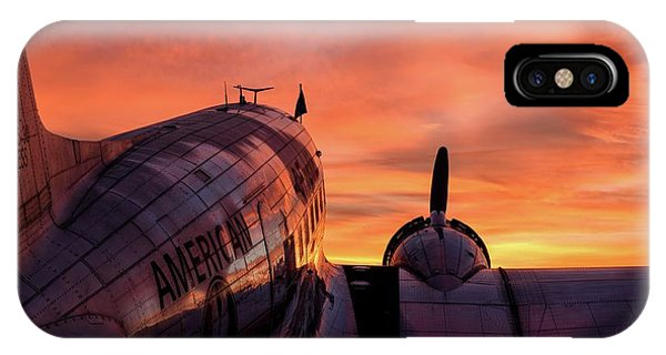 Dc-3 Dawn - 2017 Christopher Buff, Www.aviationbuff.com IPhone Case